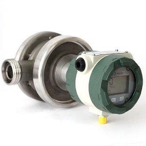 Caudalímetro de Ruedas Ovaladas RFI-32 VE-03MSI con lectura local y salida de pulsos