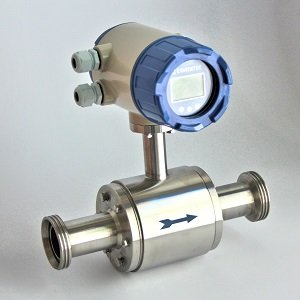 Contador Electromagnético EMI-40 con conexión a proceso rosca alimentaria DIN 11851 NW