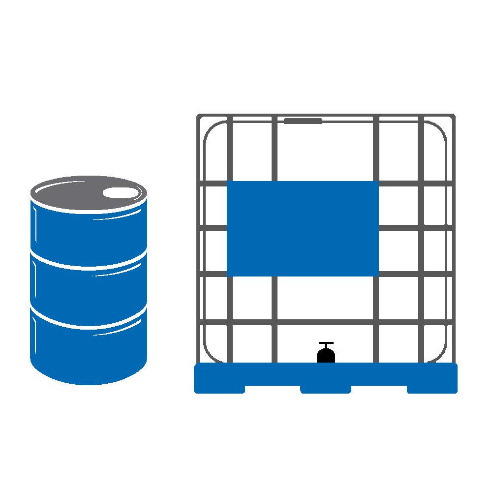 Contenedores de 200 y 1000 litros