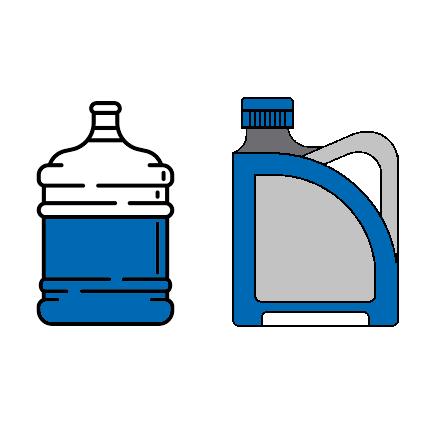 Envases entre 2 y 50 litros