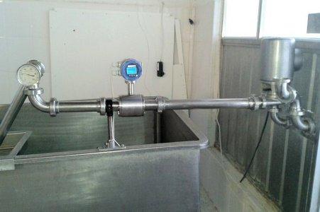 Cargas de Cisternas de leche con un contador electromagnético