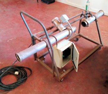 Caudalimetro de Turbina con Dosificador