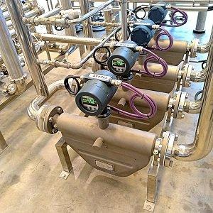 Caudalimetros másicos para medir aceites esenciales